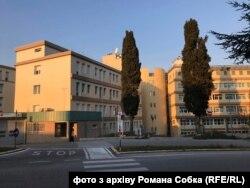 Італійський шпиталь в Урбіно, в якому допомагали українські лікарі