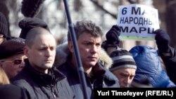 Сергей Удальцов и Борис Немцов
