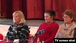 Ema Čekić, Milka Kovačević i Mladenka Mikulić