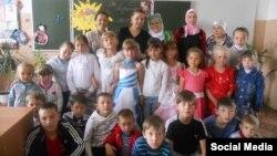 Школа в селе Алтары в Мордовии, фото 2014 года
