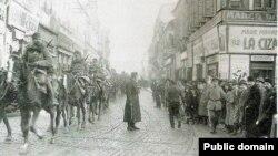 La Iași în 1917 (Foto: Centrul de Cultură și Istorie Militară, Chișinău)