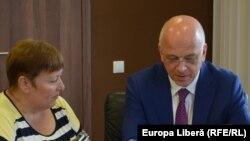 Valentina Ursu și Cord Meier-Klodt in Chisinau, 24.06 2016