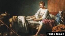 Нікаля Бэрнар Лепісье, «Уставаньне Фаншон» (1773)
