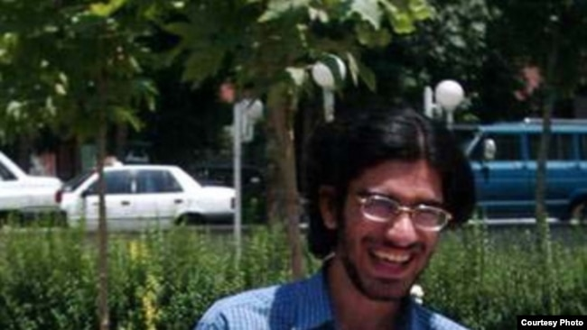 Mohsen Rouholamini, one of the victims of protests in the aftermath of Iran's 2009 elections, undated.