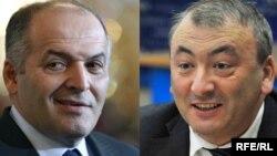 Олігарх Виктор Пинчук (ліворуч) і екс-дипломат Василь Філіпчук