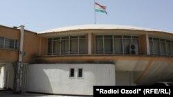 Здание Верховного суда Таджикистана