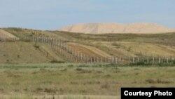 Казахско-китайская граница.