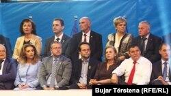 Fotografi nga fushata zgjedhore e koalicionit LDK-AKR-Alternativa