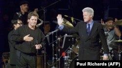 Роджер и Билл Клинтон