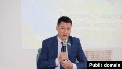 Аскар Бопылдыков, председатель Атырауского областного филиала «Жас Отана».