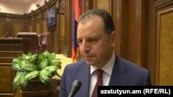 Министр обороны Армении Виген Саргсян, 11 октября 2017 г.