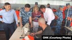 Члены ОНК посетили колонию 3 августа