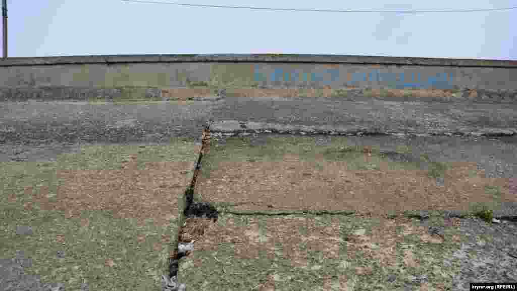 Білогірське водосховище зараз – на межі висихання