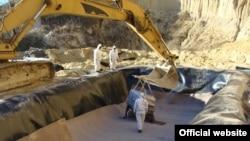 Илустрација: Депонијата за азбест во депонијата Дрисла