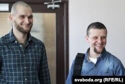 Віктар Данілаў (зьлева) і Андрэй Дундукоў