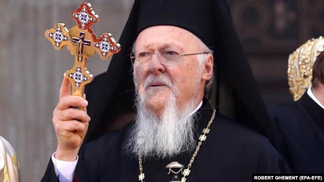 Вселенський патріарх Варфоломій I, 25 листопада 2018 року