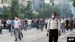 ناآرامی در تهران، روز شنبه، هشتمین روز
