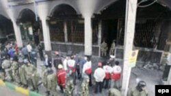محل یکی از بمبگذاری های اهواز
