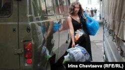 Сбор помощи Крымску