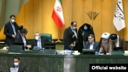 Iranian Parliament deals with an investigative report on intelligence agencies and corruption in the auto industry. May 19, 2020