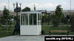 Будка для узбекского посбона.