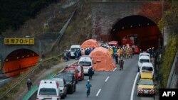 Pamje nga incidenti në Japoni
