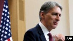 Britaniýanyň daşary işler ministri Filip Hammond
