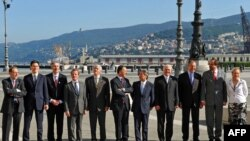 وزرای خارجه گروه هشت در شهر تریسته ایتالیا