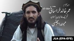 One of the captured militants was Omar Khalid Khorasani, a senior Islamic State militant.