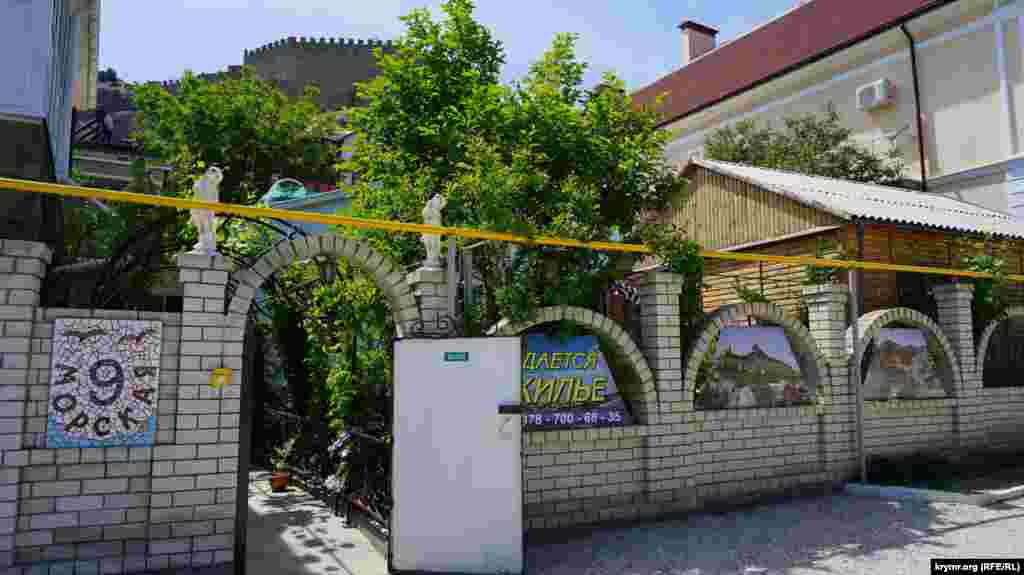 Гостьовий будиночок на вулиці Морській