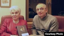 Надежда Солженицына и Игорь Топоров – внук Адриана Топорова