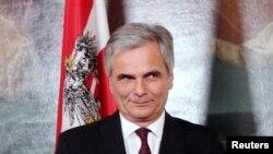 Kancelari i Austrisë, Werner Faymann.