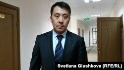 Адвокат Бауыржан Азанов. Астана, 7 шілде 2018 жыл.