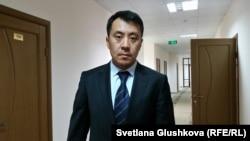 Адвокат Бауыржан Азанов. Астана, 7 шілде 2016 жыл.