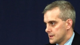 Newly appointed White House chief of staff Denis McDonough