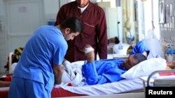 جريح من أحداث الحويجة في مستشفى بأربيل