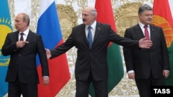 Роля Аляксандра Лукашэнкі ў правядзеньні перамоваў ня згадваецца