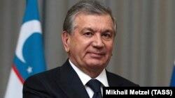 Шавкат Мирзияев, Өзбекстан президенті.