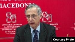 Италијанскиот амбасадор во Македонија Ернесто Масимо Белели
