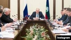 Глава Карачаево-Черкесии Рашид Темрезов, архивное фото