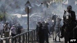 Pamje nga përleshjet e mëparshme të policisë izraelite me protestuesit palestinezë në Qytetin e Vjetër të Jerusalemit