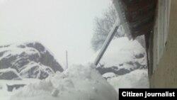 В Рушане из-за снегопада закрыты школы