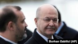 Iraq's President Barham Salih. File photo