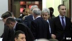 Архива: Претседателот на Комисијата за европски прашања Артан Груби.