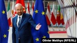 Претседателот на Европскиот совет, Шарл Мишел