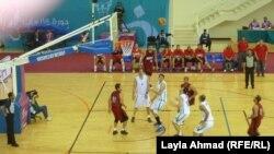 مباراة العراق ومصر في السلة