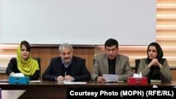 د افغانستان عامې روغتیا پخوانی وزیر او درې مرستیالان