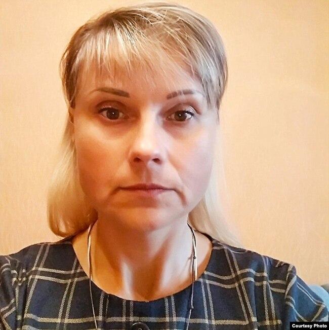 Людміла Лапко, маці Яўгена Лапко, асуджанага за наркотыкі
