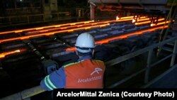 Radnik ArcelorMittalaZenica, fotoarhiv