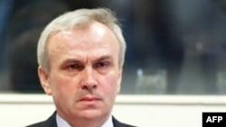 Jovica Stanišić u sudnici Haškog tribunala u junu 2003. godine.